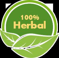 100% herbal