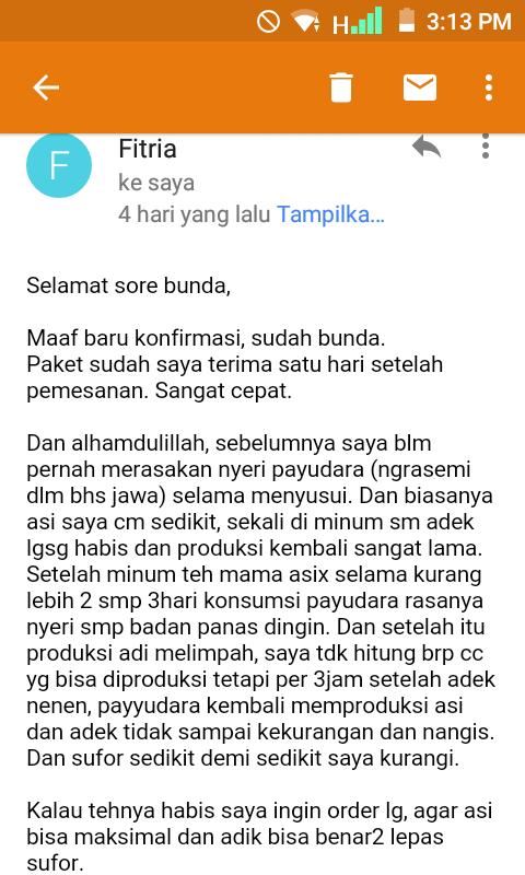 testimoni mama asix, review mama asix