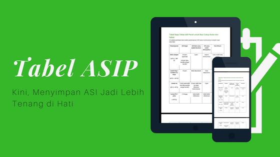 Download Tabel Cara Menyimpan ASI Perah – PDF
