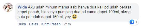 testimoni mama asix